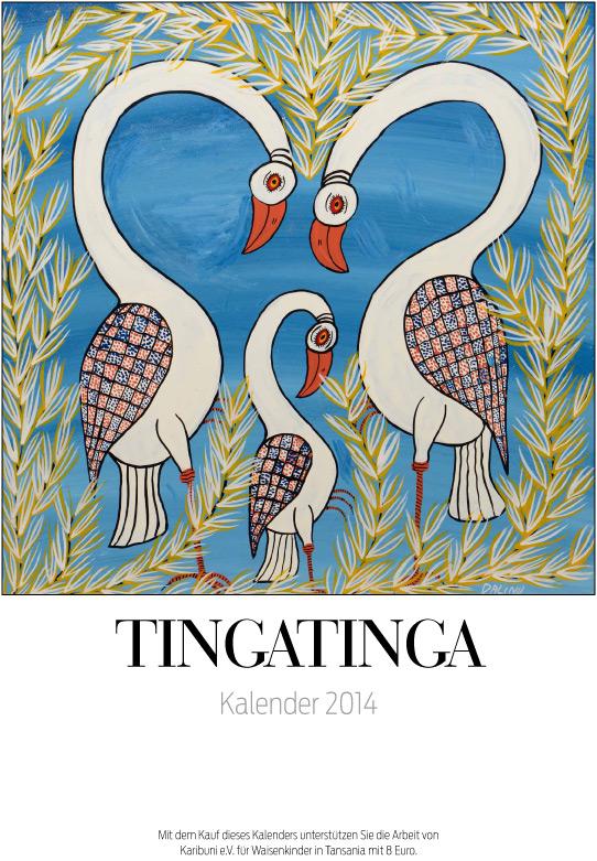 Tingatinga-Kalender 2014